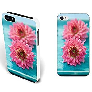 nazi diy Charming Floral Series Pretty Flowers Design Cover Case for Iphone 5/5s Customized Girly Cell Phone Protector Skin (beautiful flowers)