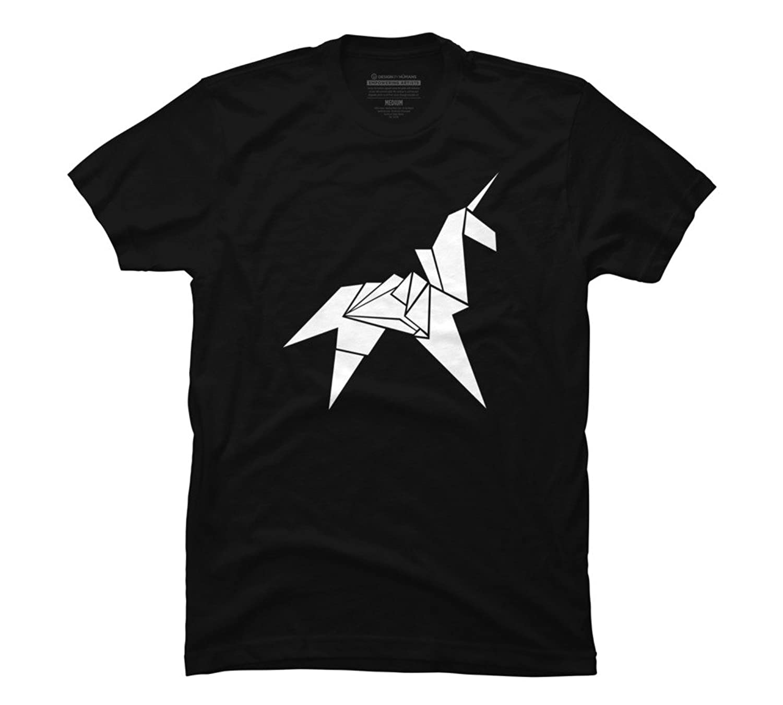 Amazon design by humans origami unicorn mens graphic t shirt amazon design by humans origami unicorn mens graphic t shirt clothing jeuxipadfo Gallery