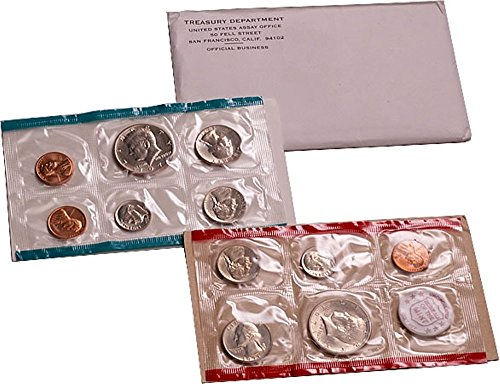 1971 U.S. Mint - 11 Coin Uncirculated Set with Original Governmetn Packaging Set Uncirculated ()