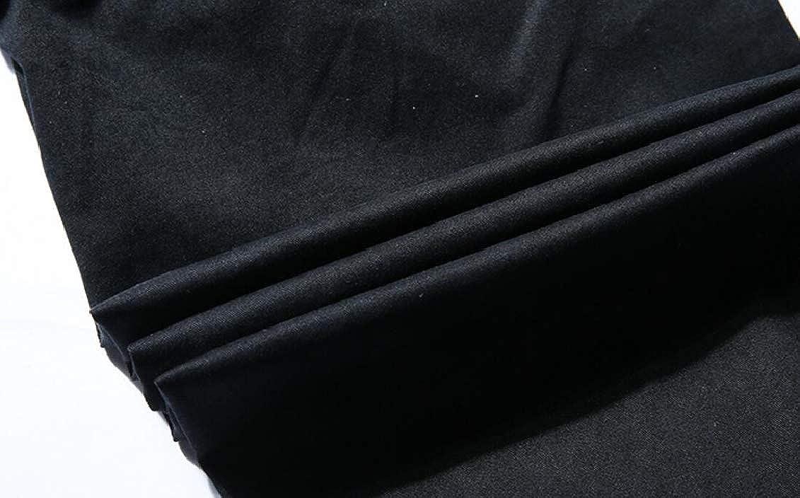 SHOWNO Mens Jogger Multi Pockets Cotton Outdoor Casual Cargo Long Pants
