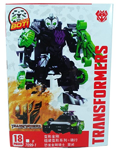Transformers Age of Extinction Lockdown Buildable Action Figure