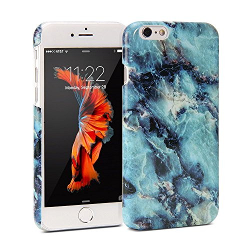 iphone-6-case-gmyle-snap-cover-glossy-for-iphone-6-47-display-blue-marble-pattern-slim-hard-back-cas