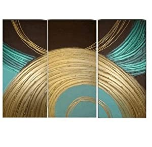 3 piece wall art 100 hand painted oil painting modern art group painting large. Black Bedroom Furniture Sets. Home Design Ideas