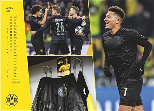 Borussia Dortmund BVB Kalender-XXL Jahreskalender Kalender 2021