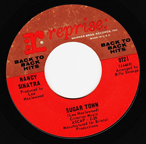 summer wine / sugar town 45 rpm single