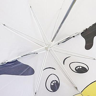 Kiddi Choice 3D PopUp Milk Cow Cute Umbrella, White: Toys & Games