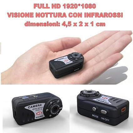 SUNDREAM® Full HD 1080P Mini cámara espia con la visión nocturna del IR-SPY