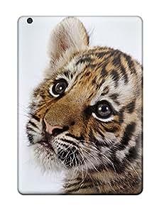 Ipad Case - Tpu Case Protective For Ipad Air- Cute Tiger Cub