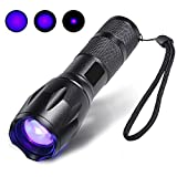 Tools & Hardware : Escolite UV Flashlight Black Light,LED 395 nM Blacklight Detector for Dog Urine and Pet Stains (1 LED Flashlight)
