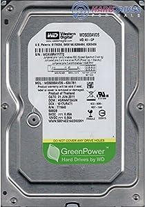 WD AV-GP 500 GB AV Hard Drive: 3.5 Inch, SATA II, 32 MB Cache (WD5000AVDS) (Old Model) from Western Digital