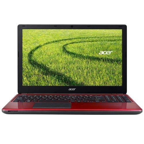 Acer Aspire E1-572G-54208G1TDNRR - Ordenador portátil, rojo, teclado QWERTY Español: Amazon.es: Informática