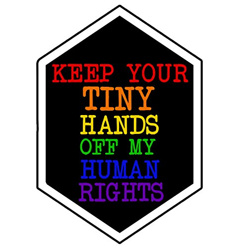 - EvolveFISH Keep Your Hands Off My Rights Bumper Sticker 3.5