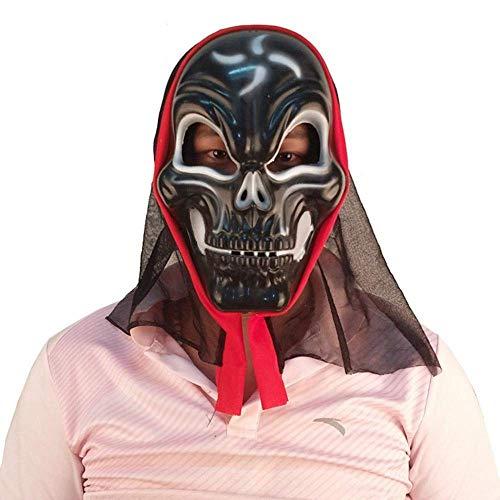 Festival Mask Halloween Headgear Devil Person Face Horror Mask Costume Mask (Color : -