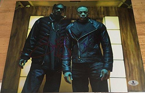 Snoop Dogg & Dr. Dre Signed Autograph Classic Rap Legends Rare Photo Proof Bas - Beckett Authentication
