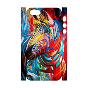 Clzpg 3D New Fashion Iphone5,Iphone5S Case - Zebra DIY 3D cell phone case