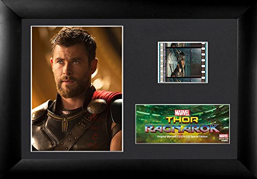 FilmCells Thor 3 Ragnarok (Thor) Minicell Desktop Presentation with 35mm film and easel stand