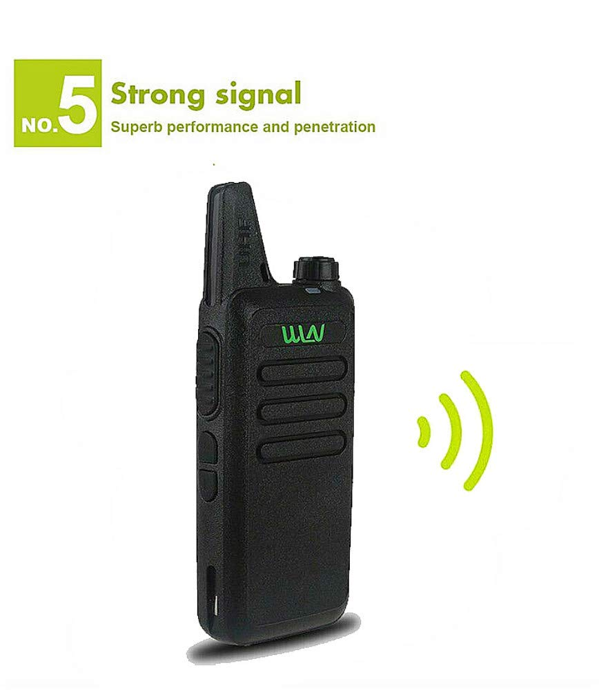 Xixou 1pc Wireless Portable Device WLN KD-C1 Small walkie-Talkie UHF400-470 MHz Communication walkie-Talkie Handheld CB HF Amateur Radio transceiver (1pc) by Xixou (Image #1)