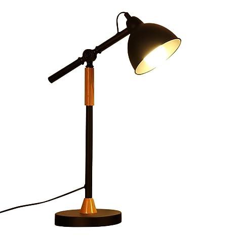 GUOWEI Lámpara de Mesa Nordic Dormitorio Estudio Creativo ...