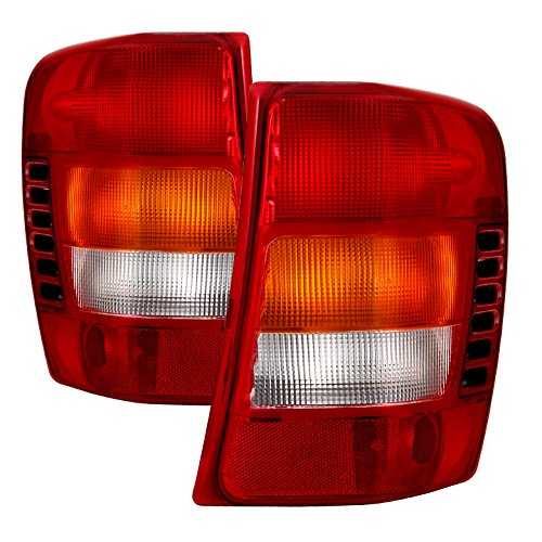 Xtune ALT-JH-JGC99-OE-RC Tail Light Built Before 11//02 Production Date Jeep 1999-2002 // Grand Cherokee 2003 s-OEM