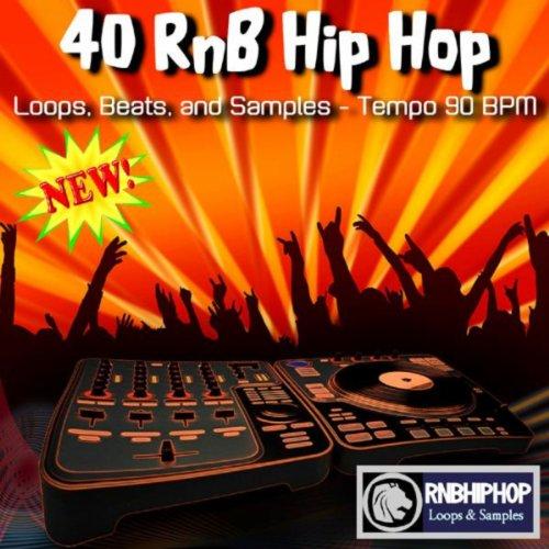 Rnb Audio Loops - 40 RnB Hip Hop Loops, Beats, And Samples - Tempo 90 BPM