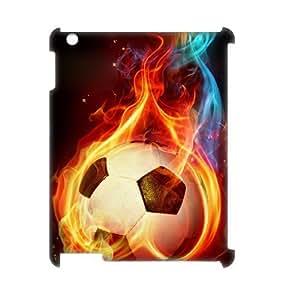LZHCASE Diy Cover Custom Case Football For IPad 2,3,4 [Pattern-1]
