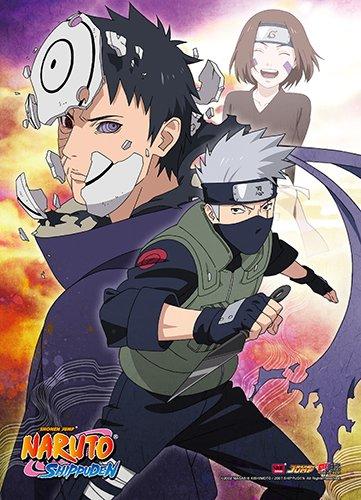 Great Eastern Entertainment Naruto Shippuden Kakashi Wall Sc