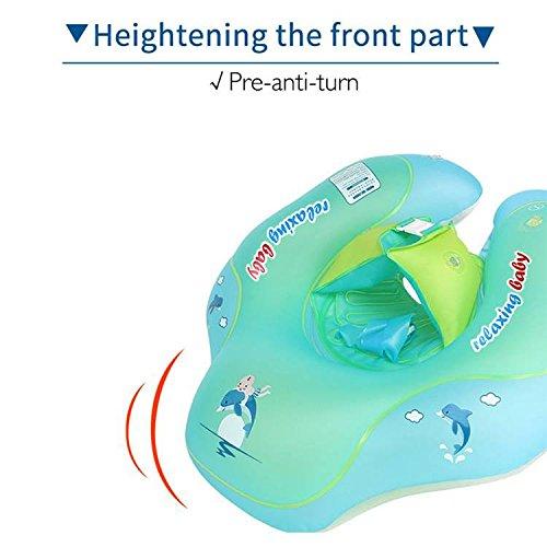 Oofay Bambino Galleggiante Nuoto Anello Bambino Gonfiabile Nuotare Tube Trainer Giocattolo Piscina Acqua Divertimento,l