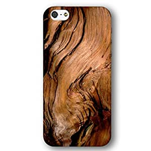 Weathered Barn Door Drift Burned Scorched Wood Pattern iPhone 5 and iPhone 5s Slim Phone Case