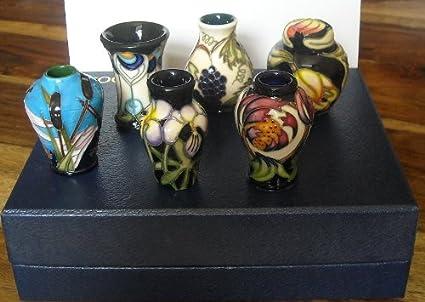 Moorcroft Pottery - Set of 6 Miniatures (2006): Amazon co uk