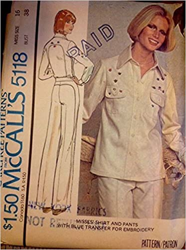 Mccalls 5118 Sewing Pattern For Curved Yokes On Jacket Back And