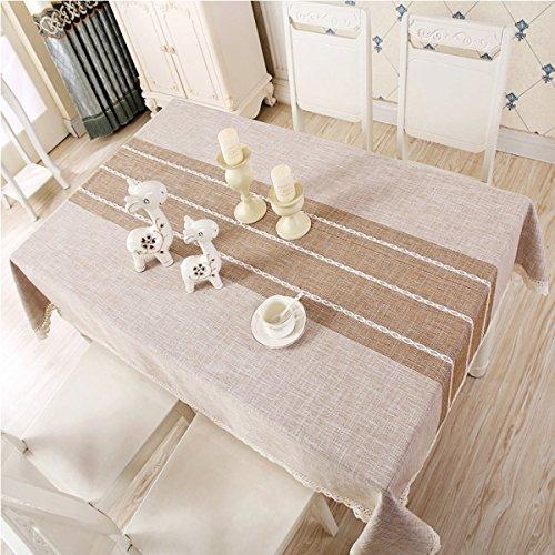 Rose 130130cm (51.251.2in) WAZY Nappe Tissu Chemin de Table Nappe en Tissu Polyester Nappe Rectangulaire Table Basse Table à Manger Famille Nappe Ménage (gris, Rose) Simple (Couleur   Rose, taille   130130cm (51.251.2in))