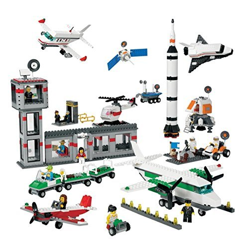 Lego Space & Airport Set (Airport Shuttle Lego)