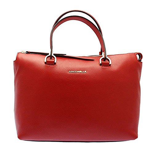 Coccinelle Keyla hand bag red