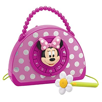 Minnie Mouse Voice Changing Boombox Pink from KIDdesigns, Inc