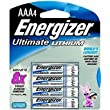 E2? AAA Lithium Battery Retail Pack - 4 Pack