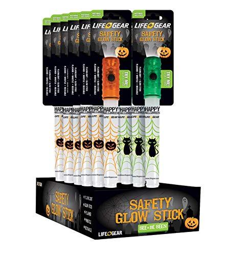 Life Gear Halloween Glow Stick 12-Pack -