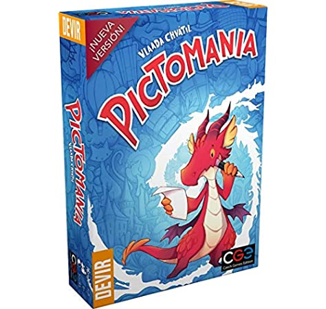 Devir-Pictomanía, edición en Castellano, Color (De 3 a 6 Jugadores. Duración 20-40 Minutos BGPICTO): Amazon.es: Juguetes y juegos