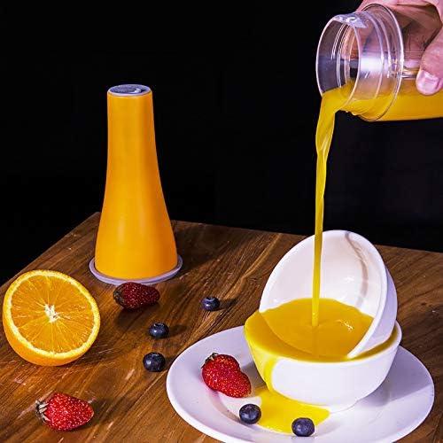 1 pieza batidora portátil mini mezclador de frutas exprimidor taza 4 potentes cuchillas para al aire libre oficina en casa