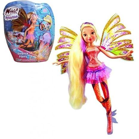 Winx Club Sirenix Fairy Stella Bambola 28cm Amazon It Giochi E