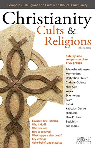 Christianity, Cults & Religions: A Side By Side Comparison Chart of 20 Cults, Religions, and World Views
