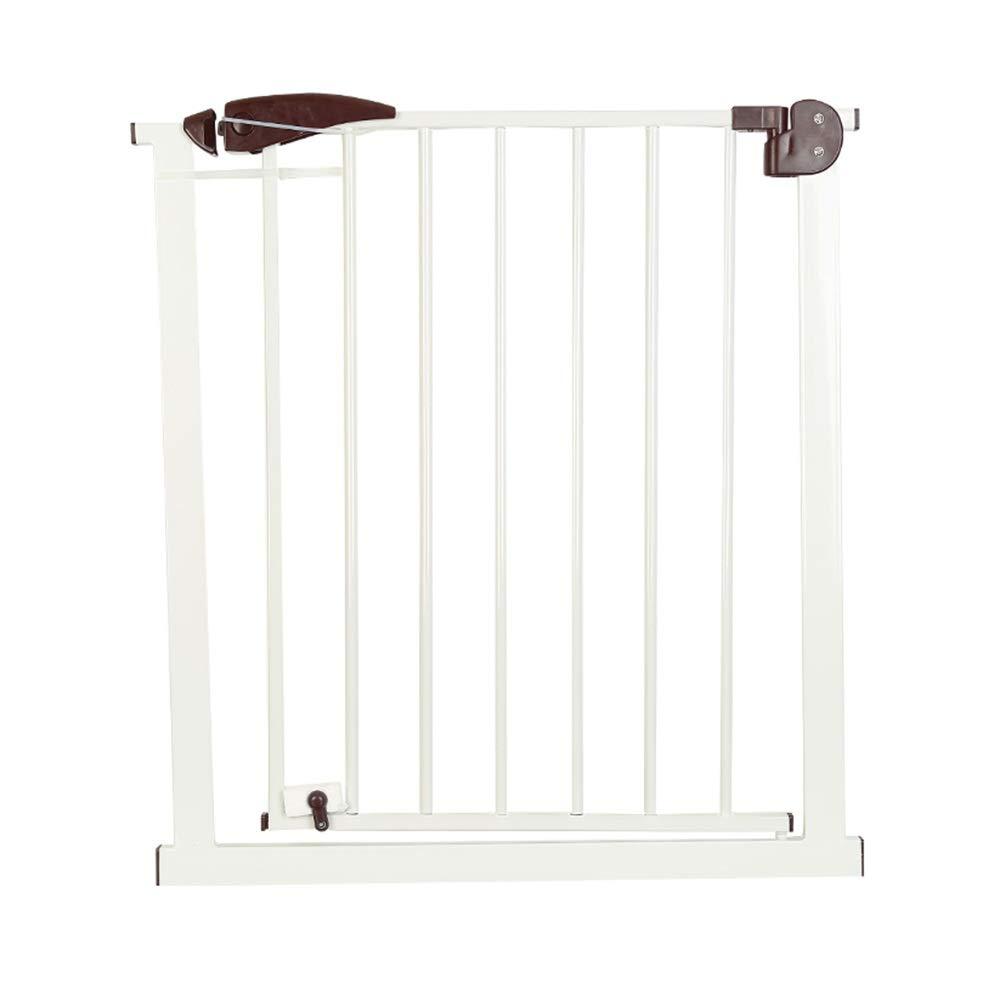 GXYAWPJ 圧力安全ドア、階段屋内家庭用フェンスフリーパンチアイソレーションペットドア、双方向ドア開口部、75-82 Cm   B07T21DYYZ