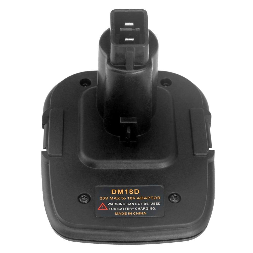 Reputedc Là Vestmon 18V Battery Adapter DM18D Converted to Lithium Ion Charger Tool Converter for Dewalt Battery