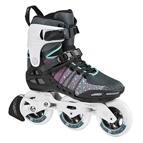 チップ膜生むPowerslide Phuzion Xenon 100 Womens Inline Skates