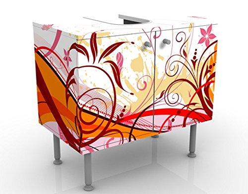 Apalis Design lavabo luglio 60x 55x 35cm, Piccolo, Largo 60cm, Regolabile, lavandino, lavabo, Rubinetto per lavabo da Bagno, Armadio, unità di Base, Bagno, Narrow, Flat Largo 60cm unità di Base 53641