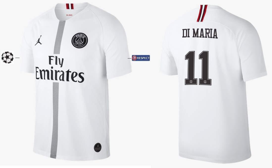 PSG Trikot Kinder 2018-2019 Third Weiß UCL - Di Maria 11
