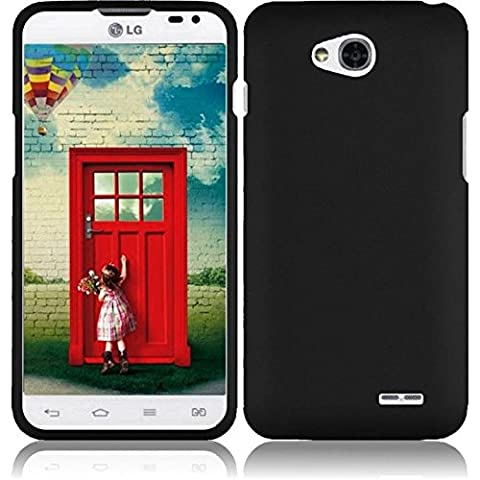 HR Wireless LG Realm Exceed 2 Ultimate 2 L70 LS620 VS450 L41C Rubberized Cover Case -- Retail Packaging - (Zte Warp Sync Rubber Phone Case)