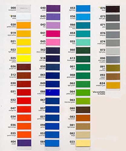 Oracal 651 - Ultimate 5ft Length Assortment - ALL 63 Colors Unbeatable Value by ORACAL (Image #3)