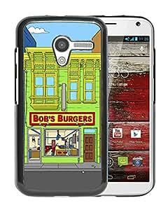 Moto X Case,Bob's Burgers 4 Black For Moto X Case