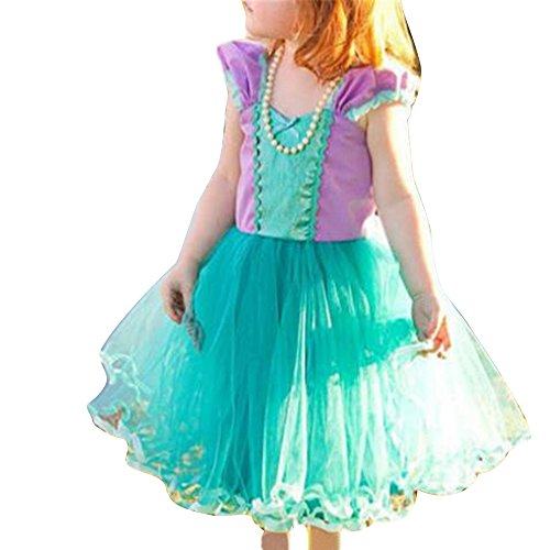 LYLIFE Lace Flower Girl Dress First Communion Dresses for Wedding -
