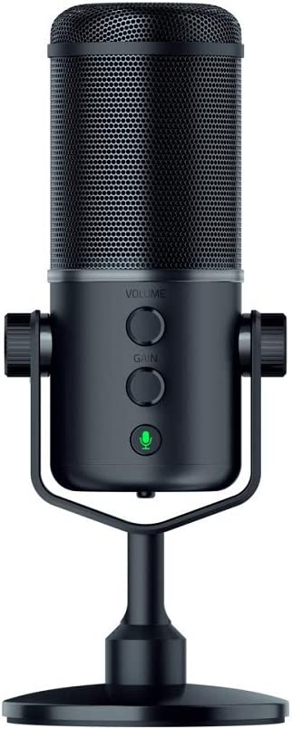 Razer Seiren Elite Studio Grade Multi Pattern Usb Digital Microphone And Headphone Amplifier Computers Accessories